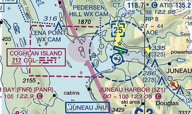 Airspace Guide USA Chart Reading Tutorial CAviation - Prohibited airspace map