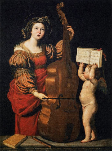 Domenichino - Saint Cecilia
