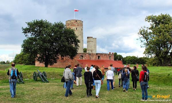 tłumy na Twierdzy Wisłoujście w Gdańsku