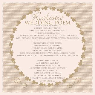 Wedding Poems Modern Wedding Readings