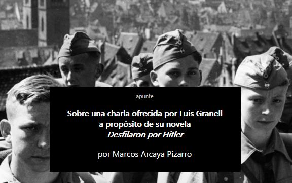 Marcos Arcaya Pizarro, Luis Granell
