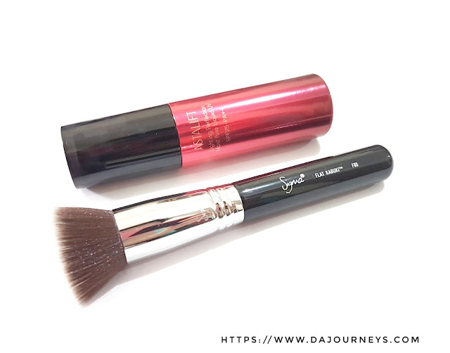 Review F80 Flat Kabuki Brush Sigma Beauty