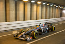 Adrian Sutil in the tunnel