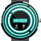 Glowing ElecTRONic Watch Face
