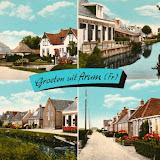 Ansichtkaarten ( meerluik kaarten ) Groeten uit ..... Friesland