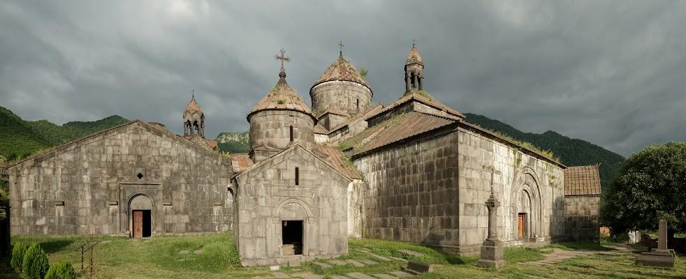 Kloster Haghpat im Abendlicht