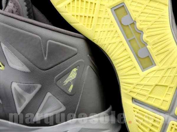First Look at Nike LeBron X Yellow Diamond 8220Canary8221