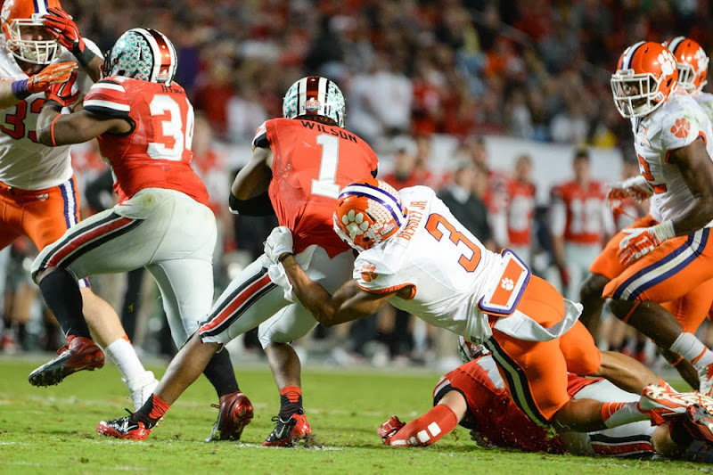 Orange Bowl vs OSU Photos - 2014, Bowl Game, Football, Ohio State, Vic Beasley