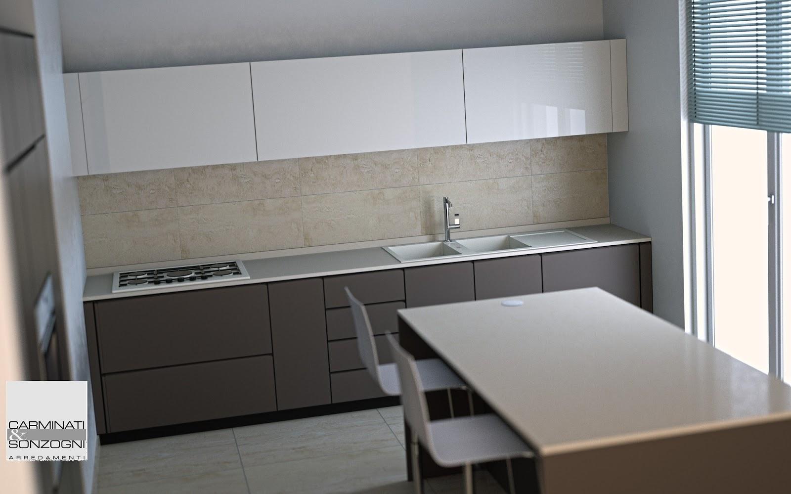 Cucine la casa moderna carminati e sonzognicarminati e for Piani di progettazione della casa 3d 4 camere da letto