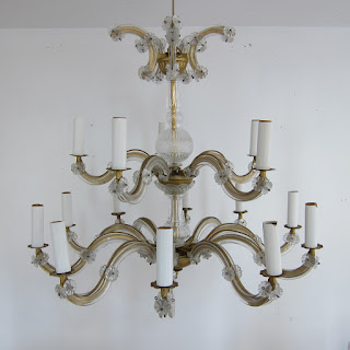 Crystal 15-Arm Chandelier