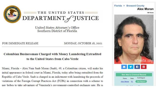 Así operaba el esquema de sobornos de Álex Saab en Venezuela, según la justicia de EE. UU.