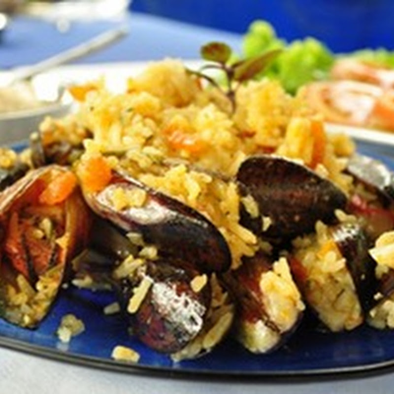 Arroz lambe lambe de marisco – ricette brasiliane