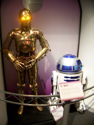 The Star Wars robots at roboworld. A Guide to Exploring the Carnegie Science Center