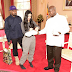 Gbam: I'm Also A Rapper - Says Ugandan president, Museveni as he hosts Kim Kardashian and Kanye West, Gifts Them 10Cows [Full Gist]
