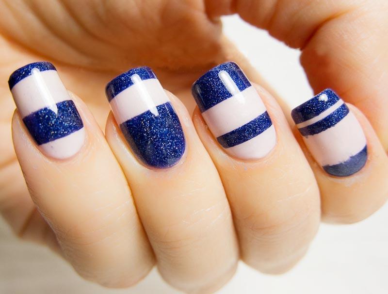 Royal Blue Nail Designs Ideas 2017 - Styles Art