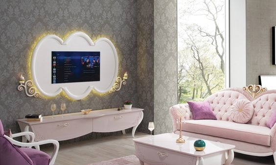 BEAUTIFUL COLLECTION OF TV TABLE DESIGNS FOR HOME 4