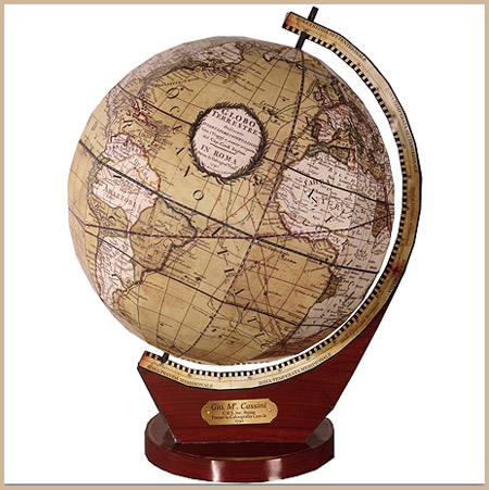 Cassini Terrestrial Globe Papercraft