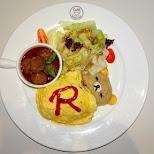 cutest dinner ever at Rilakkuma Cafe in Taipei in Taipei, T'ai-pei county, Taiwan