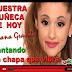 ARIANA GRANDE CANTANDO LA CHAPA QUE VIBRA / SINGING THE PLATE vibrating