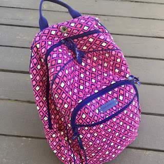 The Daily April N Ava backpack Vera Bradley