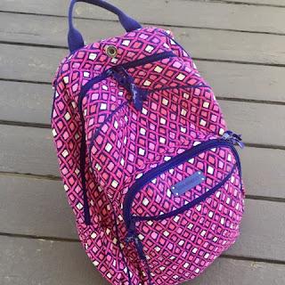 The Daily April N Ava backpack Vera Bradley