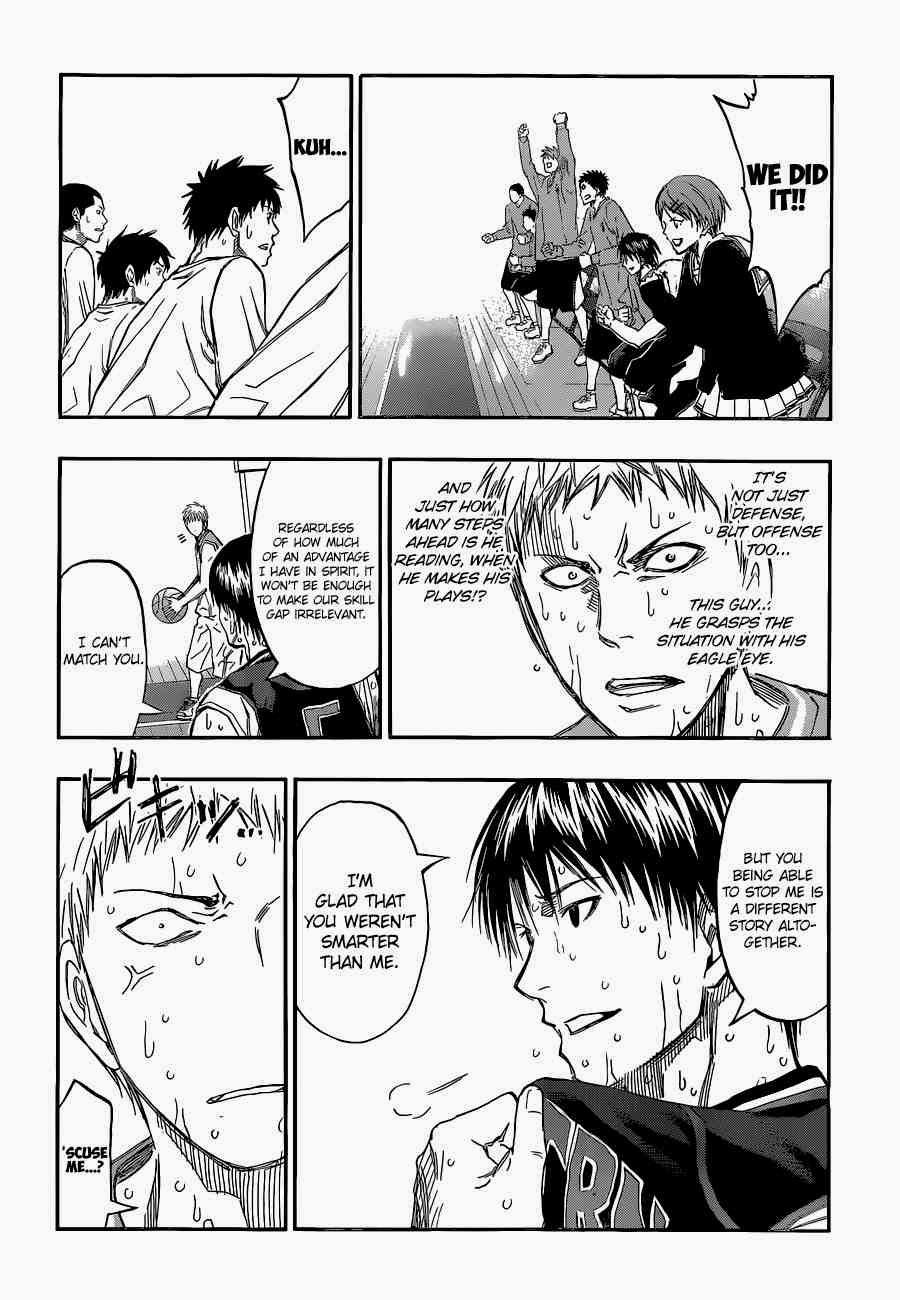 Kuroko no Basket Manga Chapter 254 - Image 18