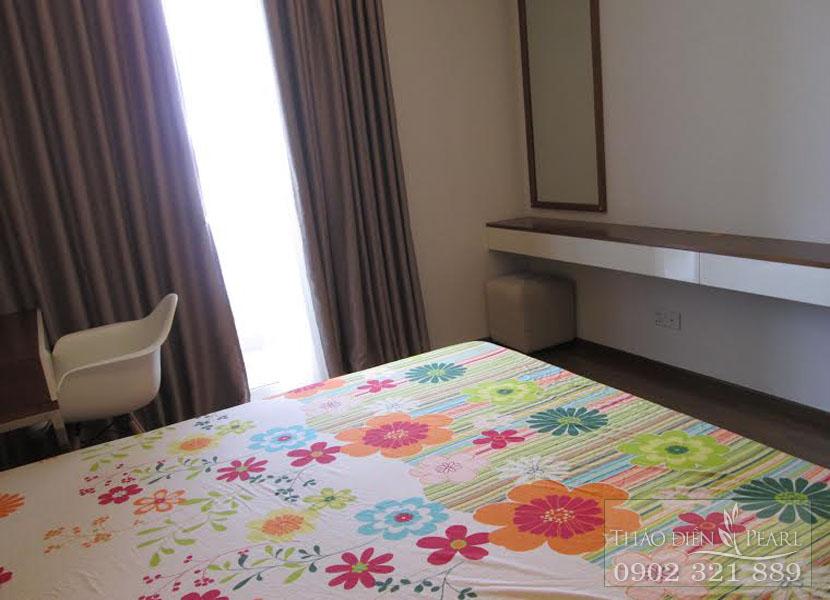 giá cho thuê căn hộ Thảo Điền Pearl 3 phòng ngủ