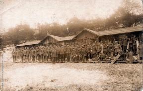 Members of Pomm. Pion. Batl. Nr. in Champagne in years 1915-1916