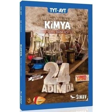 Sınav Yayınları - TYT Kimya - 24 Adımda Soru Bankası