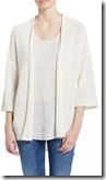 Marc O'Polo white edge to edge 3-4 sleeve cardigan