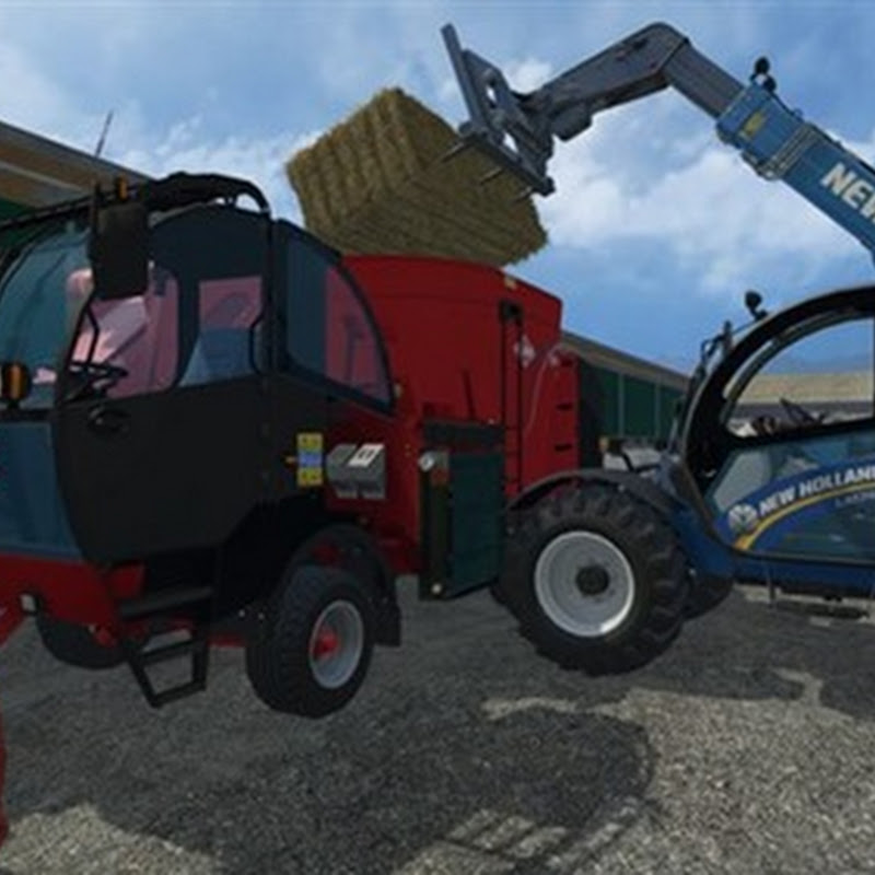 Farming simulator 2015 - Kuhn SPV 12 with IC and extra Cams