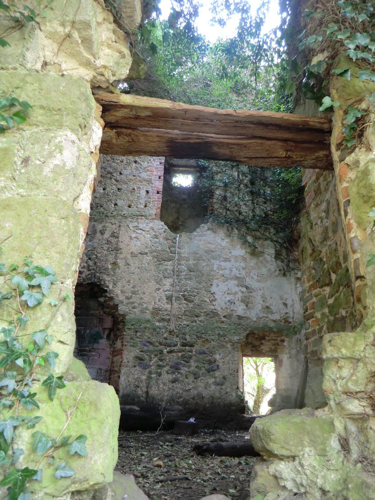 CIMG3197 Interior of folly, Tower Wood