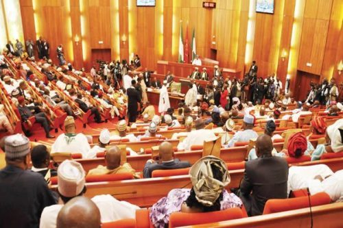 Image result for Senate postpones debates on 1999 Constitution review to Wednesday