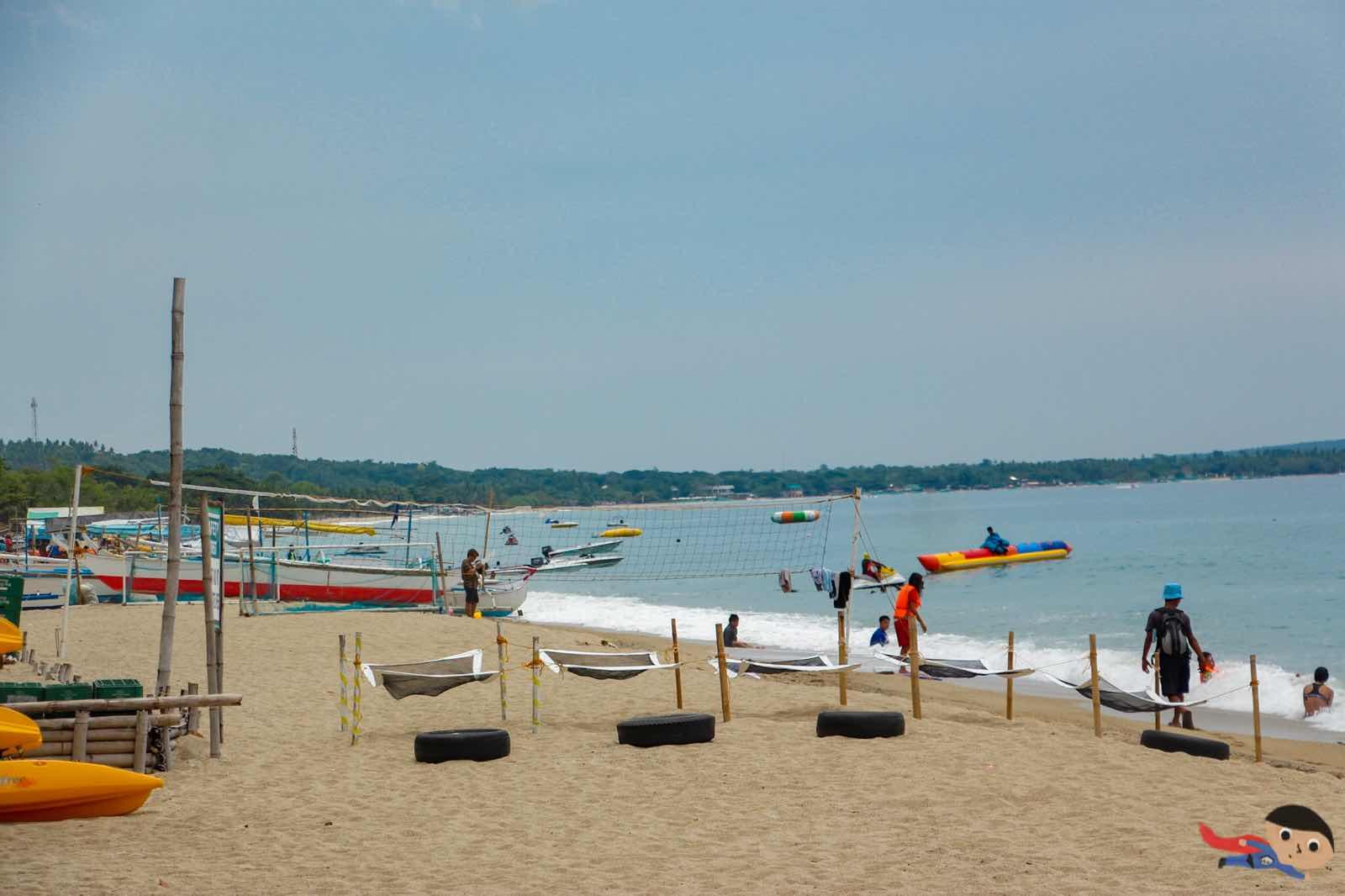 Beach of La Luz in Laiya, San Juan, Batangas