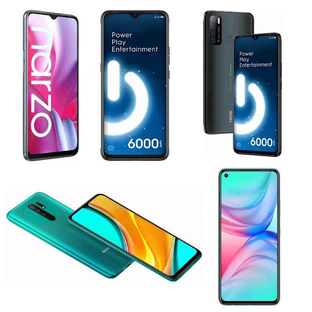 Best mobile phones under 10,000