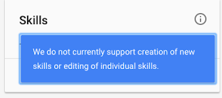How do i edit my skills on google about me profile section hello google is not currently supporting creation of new skills or editing of individual skills stopboris Choice Image