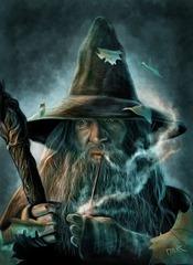 gandalf fan art magia blanda como escribir una novela