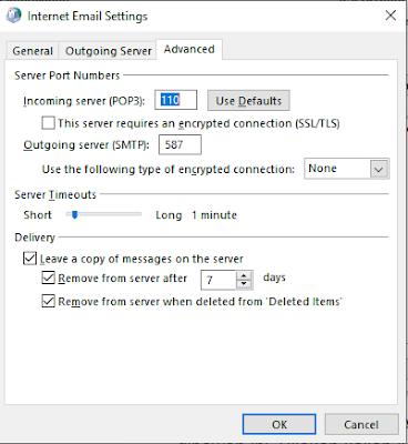 Email POP3 dan IMAP