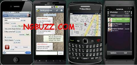 free mobile chat for blackberry