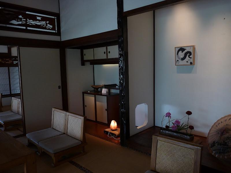 TAIWAN.Taipei .Maison japonaise vers Beitou et Musée National de Taipei à côté du Peace park - P1060309.JPG