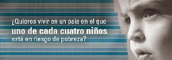 Campaña de UNICEF contra la pobreza infantil