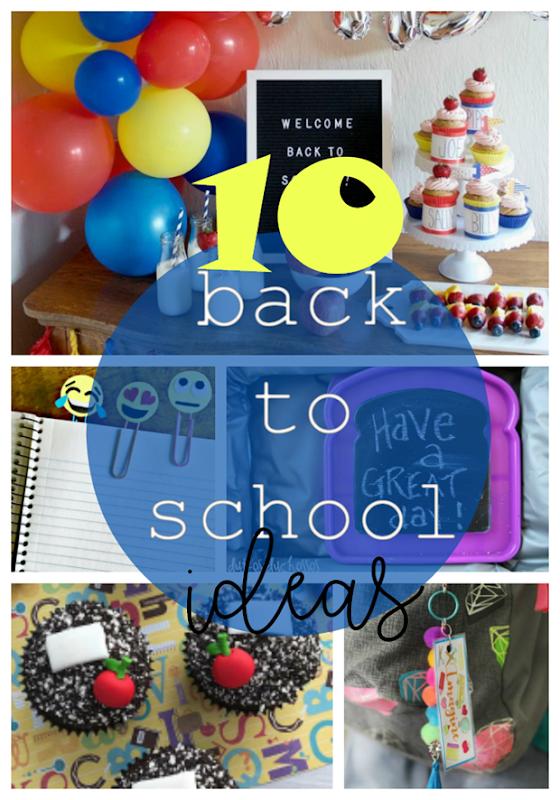 10 Back to School Ideas at GingerSnapCrafts.com #backtoschool #school