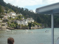 Kingswear from the River Dart