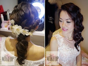 intricate hair for wedding Malaysia