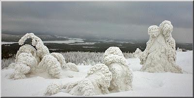 Snöfigurer
