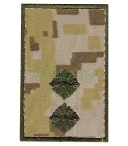 Погон ДПС Лейтенант /тк.NDU/ 70х45мм