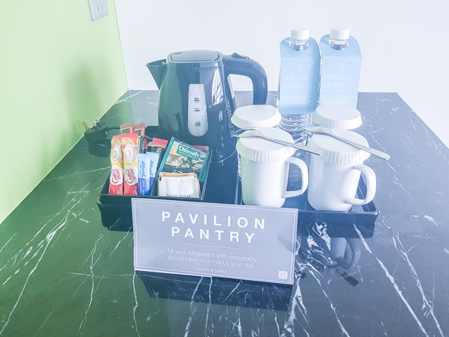 Hilton Garden Inn Puchong Room Pantry