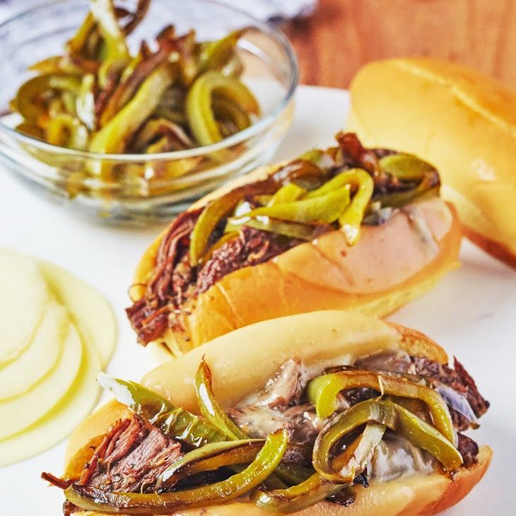 Pressure Cooker Italian Beef Sandwiches