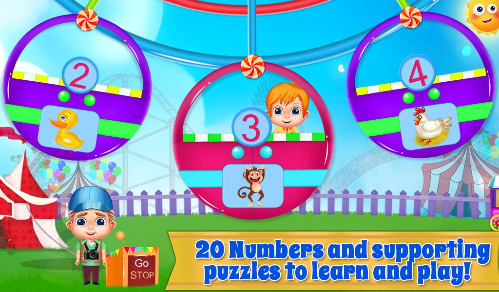 Preschool Learning Numbers- screenshot