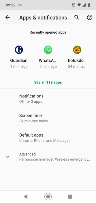 لا يتم تحميل صور Facebook Clear Cache Android 2